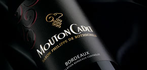 Mouton Cadet red wine vin rouge Bordeaux France Baron Philippe de Rothschild